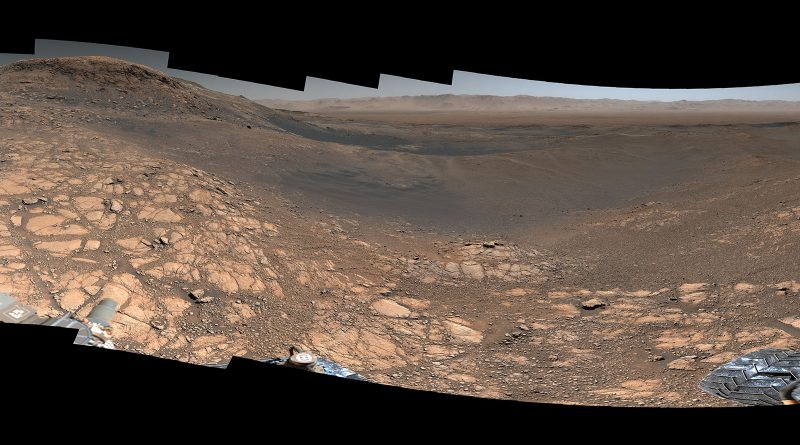 NASA выпустило 1,8-миллиардную пиксельную панораму марсианского пейзажа