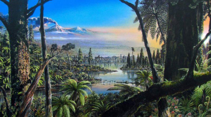 90 миллионов лет назад в Антарктиде был тропический лес