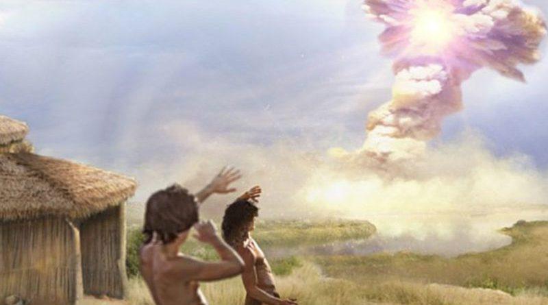 Комета разрушила эту деревню 12 800 лет назад
