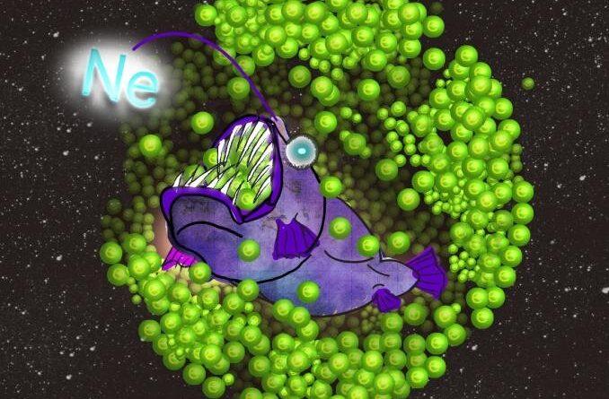 Неон, питающийся электронами, вызывает разрушение звезды