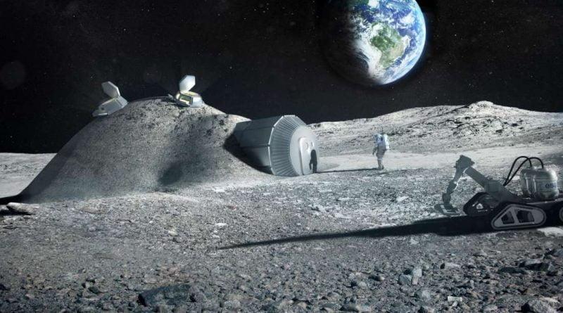 Будущие лунные базы могут быть построены из мочи астронавтов