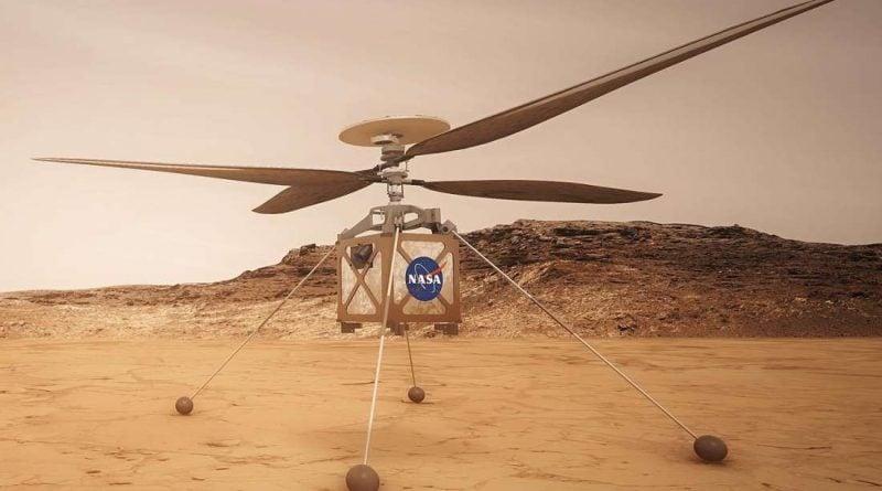 NASA отправляет вертолет на Марс в июле