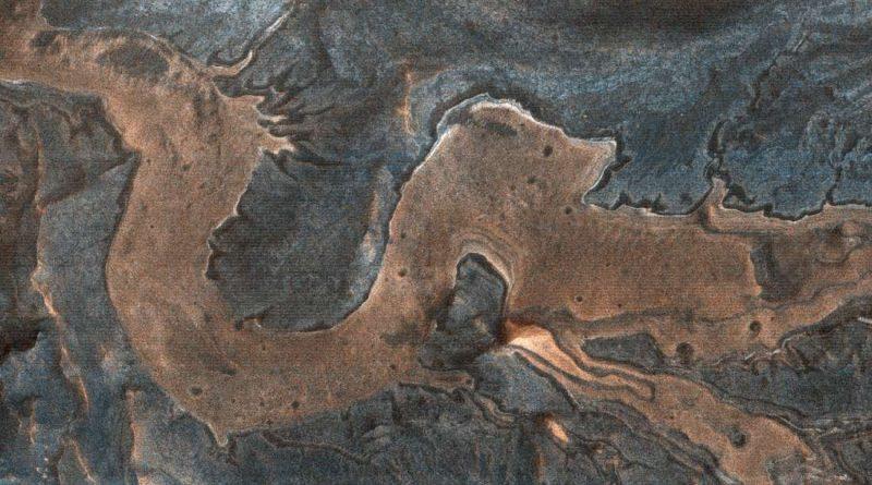 «Дракон» был замечен в каньонах Марса