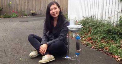 Девушка изобрела устройство, которое очищает воду и генерирует возобновляемую энергию