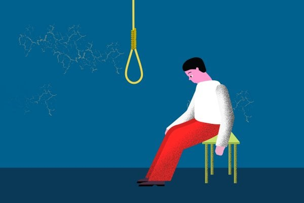 Выжившие после попытки самоубийства имеют более низкую чувствительность к телесным сигналам