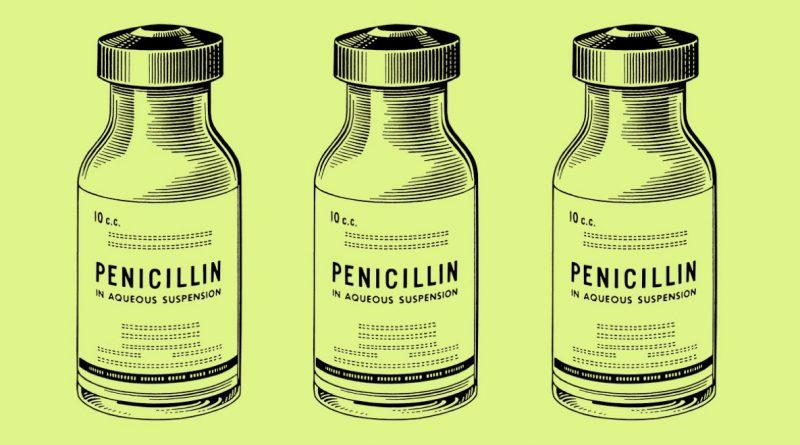 Как пенициллин взрывает бактерии
