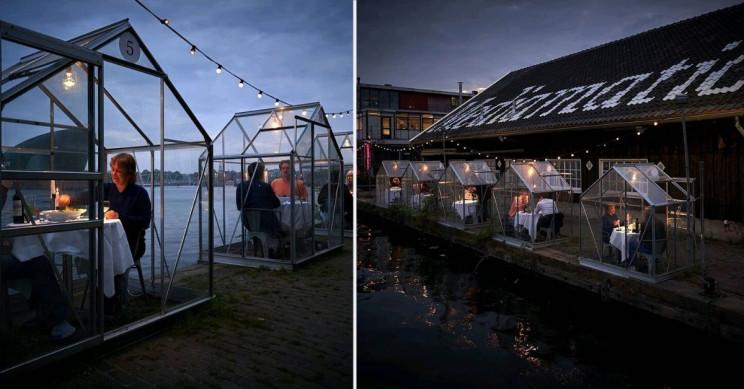 Голландский ресторан, соблюдающий дистанцирование, забронирован до конца июня