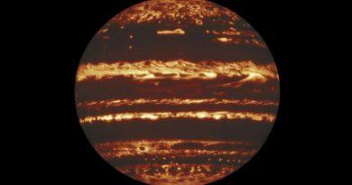 Изображение того, что лежит под облаками Юпитера