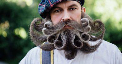 Исследование показывает, что бороды поглощают удар по лицу