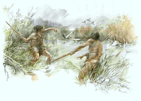 В Германии найдена деревянная метательная палка, возраст которой 300 000 лет