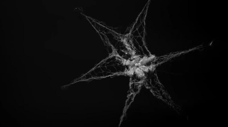 Посмотрите на эту удивительную гигантскую сеть, собирающую мусор в космосе