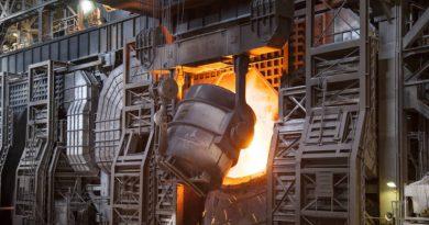 Впервые водород используется для производства промышленной стали