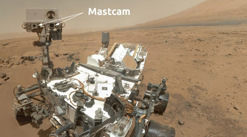 """Марсоход """"Любопытство"""" сфотографировал Землю и Венеру с Марса"""