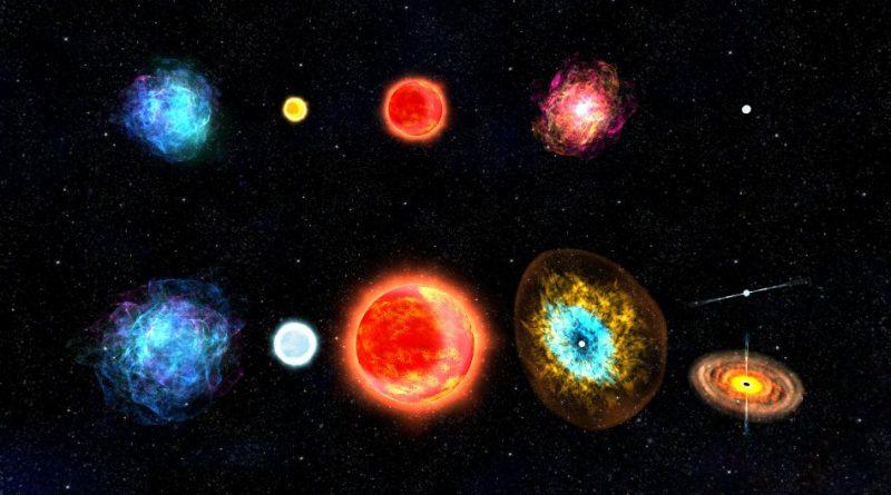 Типы звезд - горячее, яркое путешествие по Вселенной