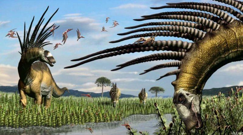 У этого динозавра был потрясающий ирокез из защитных шипов