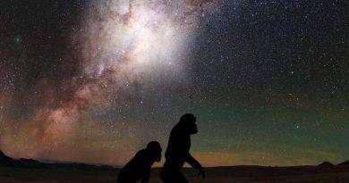 Наши древние предки, видели вспышку сверхмассивной черной дыры Млечного Пути