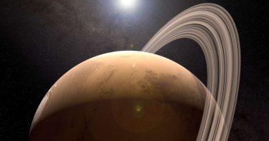 Марс периодически может образовывать кольца