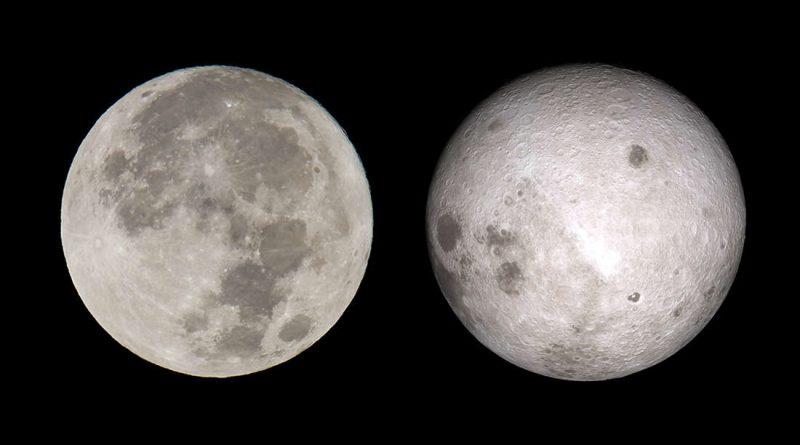Почему стороны Луны такие разные?