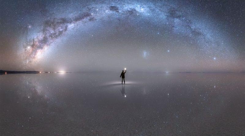 Самое большое в мире зеркало, отражающее Млечный Путь