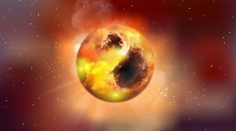 затемнение звезды Бетельгейзе