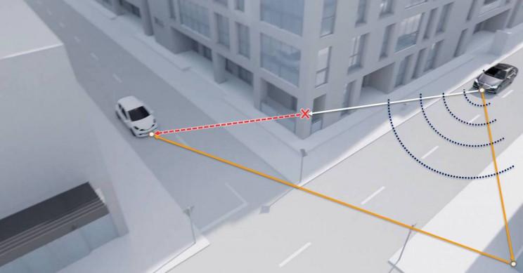 Новая технология может обнаруживать движущиеся транспортные средства вокруг углов