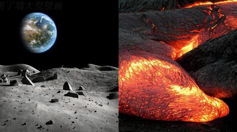 Океан магмы на луне
