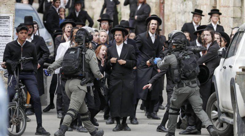 Полиция насильственно закрывает синагогу харедим в Иерусалиме