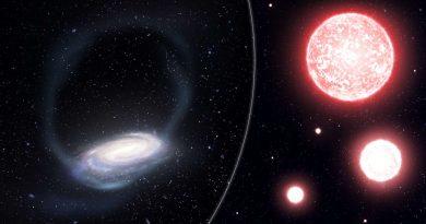 Млечный Путь разорвал уникальную скопление звезд
