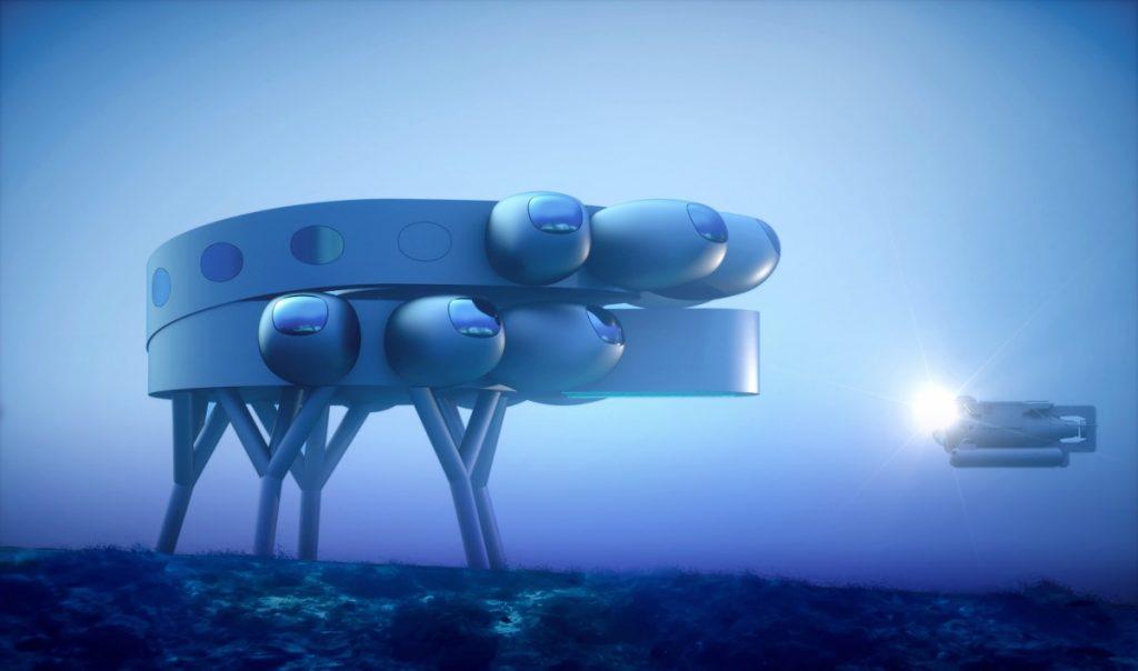 Концептуальный проект подводной базы Фабьена Кусто, Протеус