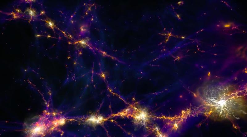 Обнаружена гигантская «стена» галактик