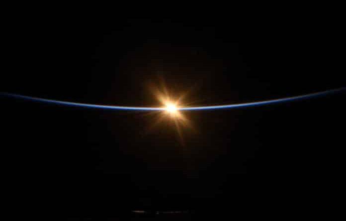 Солнце с МКС