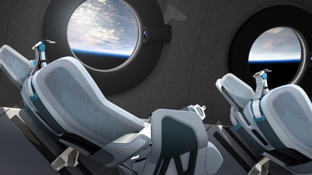 Кабина SpaceShipTwo