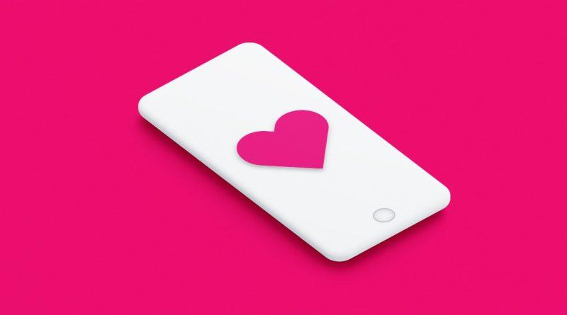 сердце смартфон