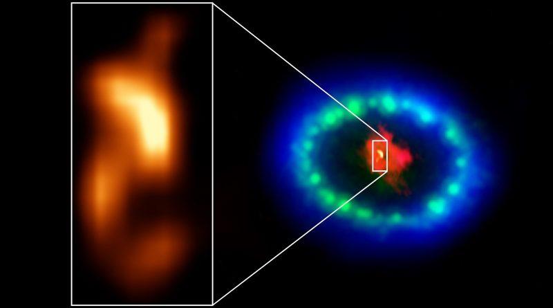 Нейтронная звезда SN 1987A