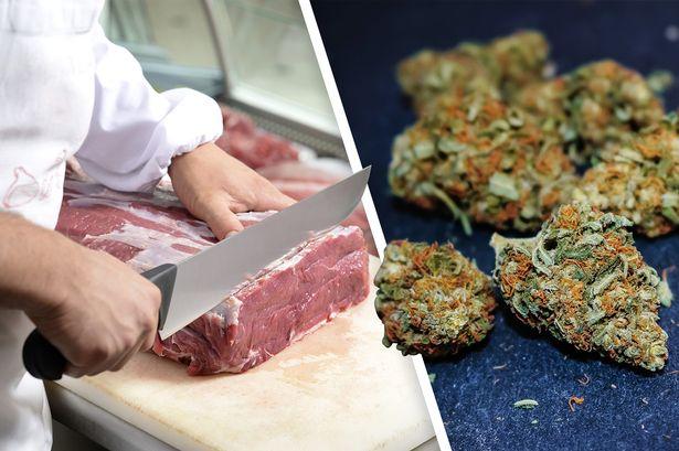 Мясо из марихуаны